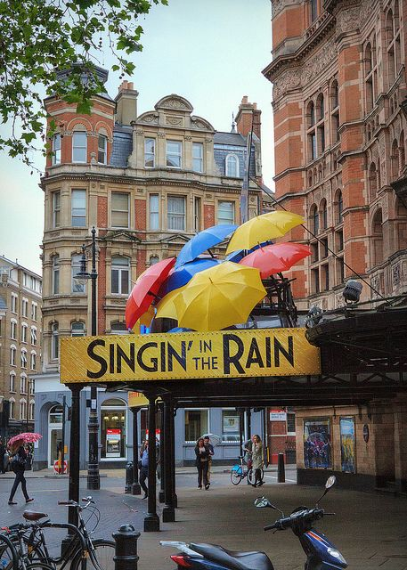"""""""Singin' in the Rain"""" - Photographed, appropriately enough, in the rain."""