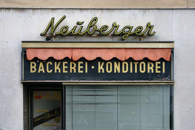 Bäckerei · Konditorei Neuberger, via Flickr.