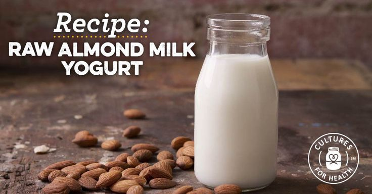 "Vegan Raw Almond Milk Yogurt use Instant Pot's Yogurt program during the ""incubate"" step of the recipe"