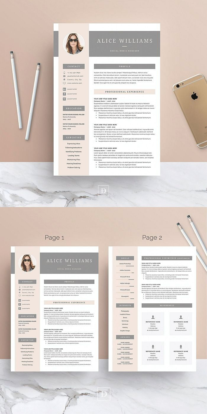 word resume template delete extra page