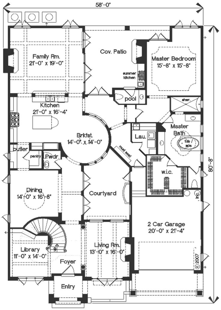 15 best Floor Plans and Exterior Elevations images on Pinterest - copy porch blueprint maker