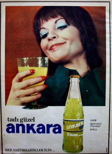 OĞUZ TOPOĞLU : ankara gazozu 1975 nostaljik eski reklamlar