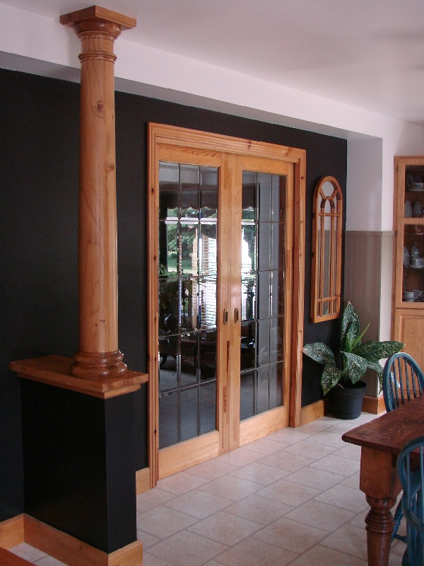 Wood Posts And Columns : Best wood columns images on pinterest