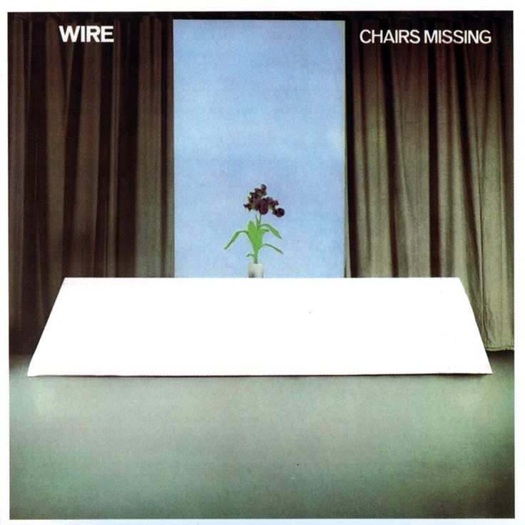 Wire: Chairs Missing—Bruce Gilbert, Graham Lewis, Brian Palmer