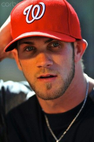 Bryce Harper for the Washington Nationals.