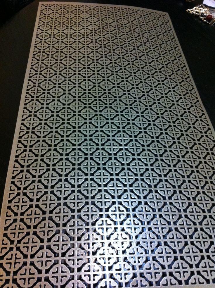 sheet metal home depot decorative - Google Search