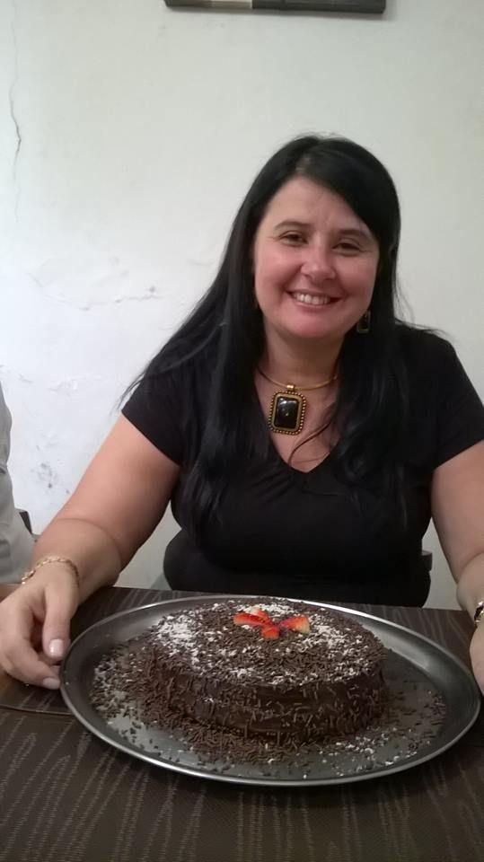 10/04/2015 - aniversariante Cristiane Andrade, Fiscal em Santos