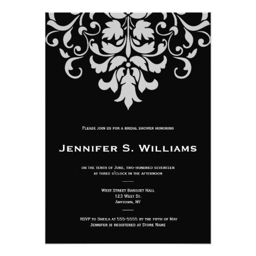 274 best damask wedding invitations images on pinterest damask