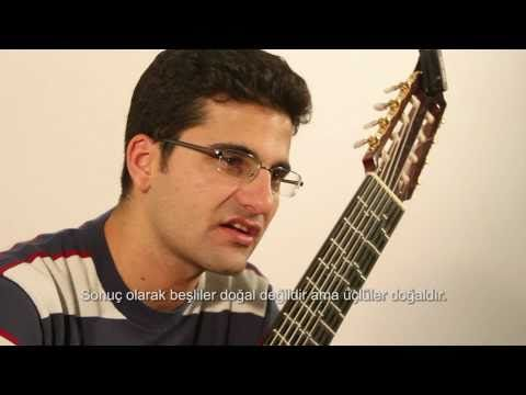 ▶ Microtonal Guitar (Part 2) - Tolgahan Çoğulu - Pythagorean / Just Intonation / Meantone - YouTube