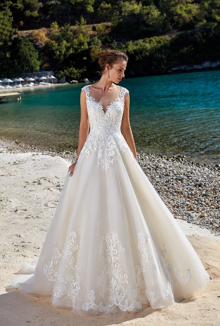 Lace wedding dress for short person january 2019  best Dallas Plus Size Bridal Boutique images on Pinterest  Short