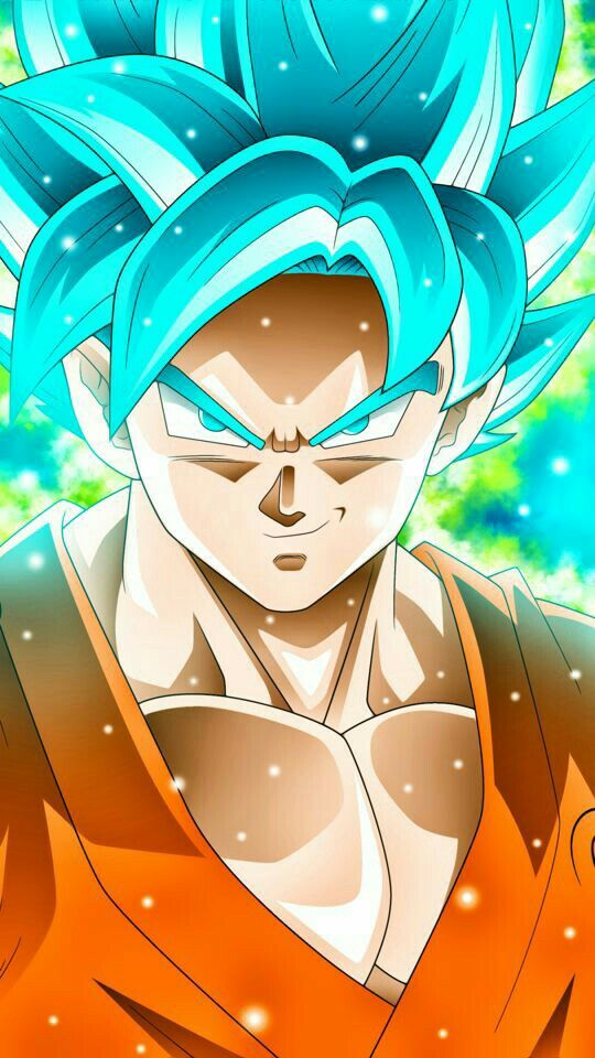 Goku ss god - Dragon ball z