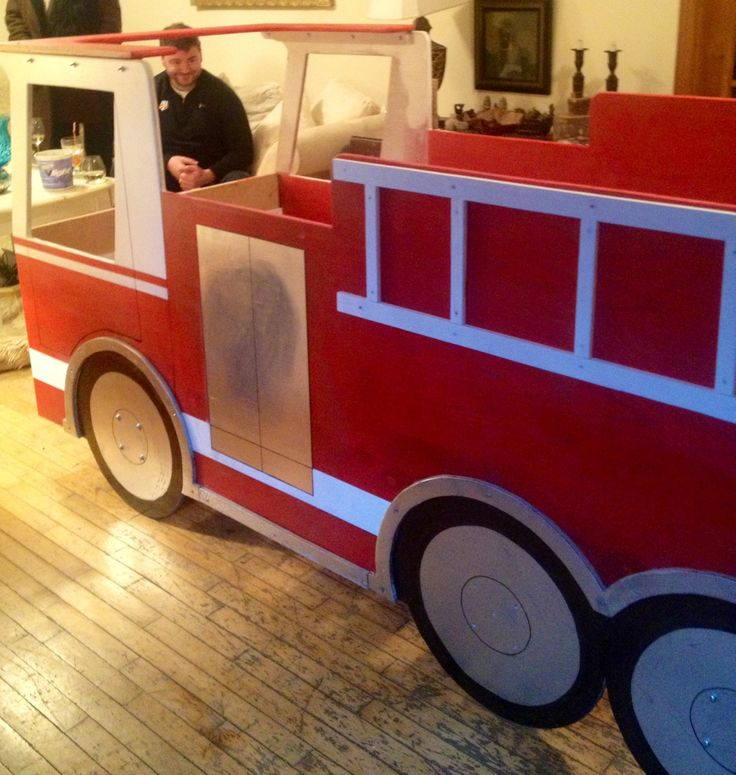 Fire truck bed constuctive pinterest - Ikea fire truck bed ...