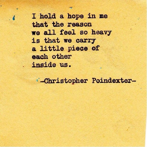 by | christopher poindexter: