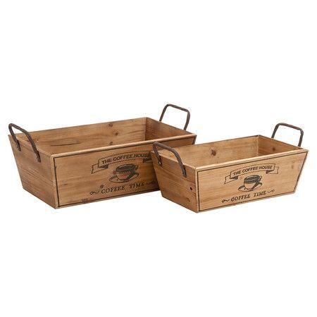 DIY inspiration-Piece Coffee House Basket