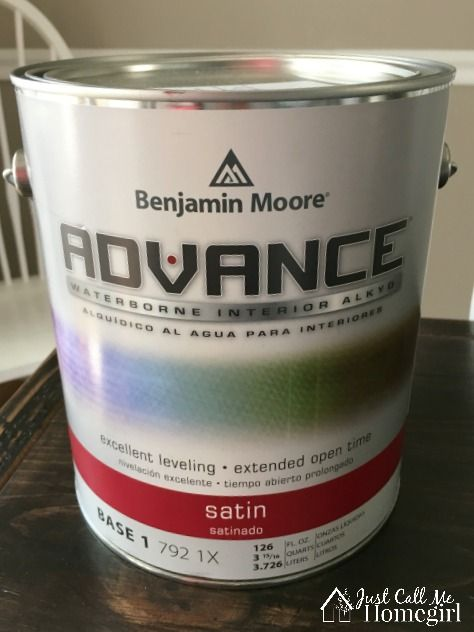 Benjamin Moore Advance Paint for Cabinets