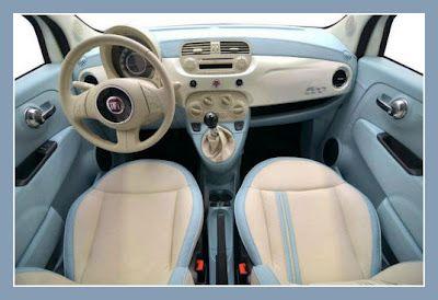 """(so pretty!) New Fiat 500 """"90th Anniversary"""" by Carlex Design"""