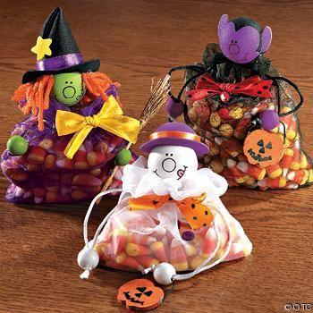 dulceros para halloween | corina