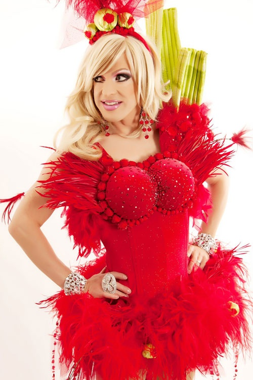 pandora boxx as an absolut bloody mary  She's my favorite Drag Queen from Season 2 of RuPauls Drag Race