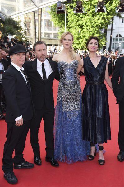 Olivier Dahan, Tim Roth, Nicole Kidman and Jeanne Balibar #CannesFilmFestival2014