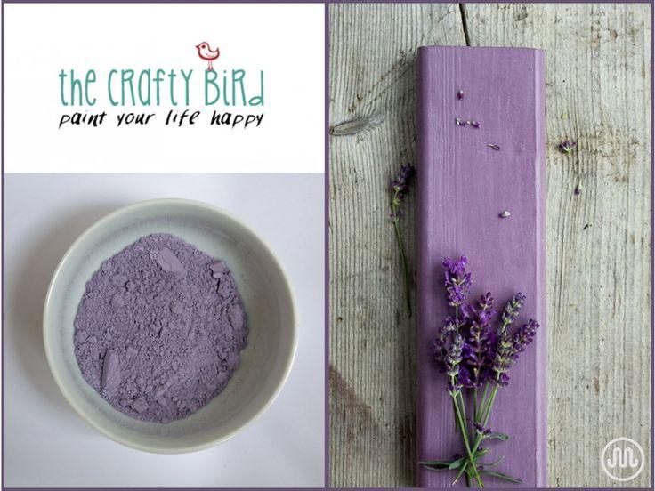 Mléčná barva CARRIBEAN REEF odstín tmavé fialovéod The Crafty Bird Milk Paint.