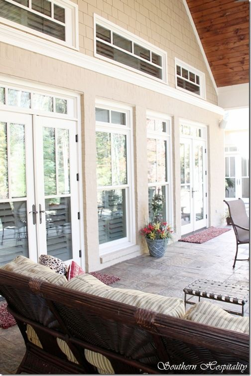 35 best images about double french door ideas on pinterest for French doors back porch