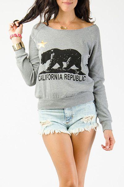 California Republic Graphic Pullover $11.99