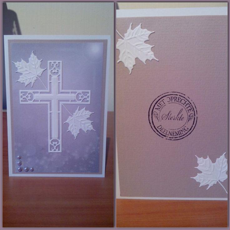 Cross and leaf