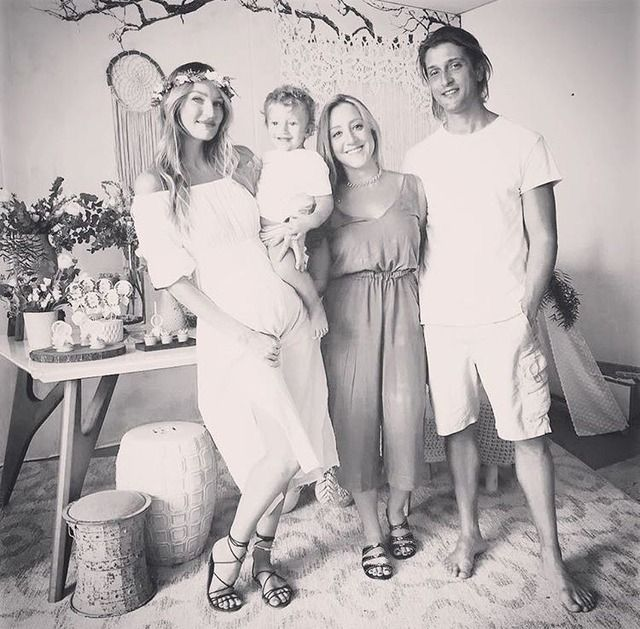 1eea935d8bf Baby shower for the next baby boy Candice Swanepoel