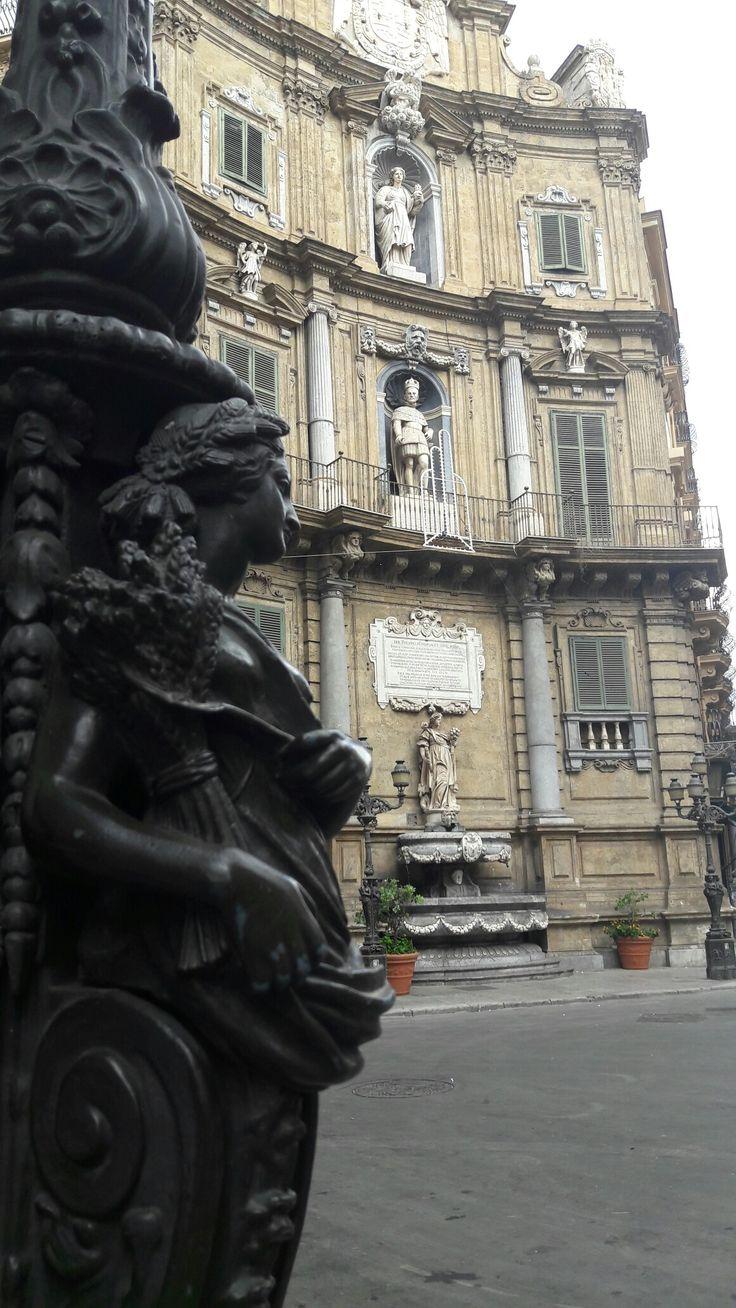 I quattro Canti, Palermo.