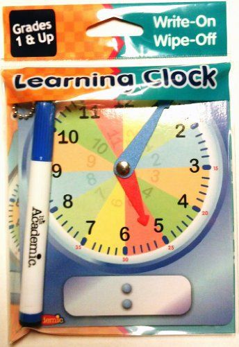 Product review for Learning Clock -  Reviews of Learning Clock. Learning Clock: Toys & Games. Buy online at BestsellerOutlets Products Reviews website.  -  http://www.bestselleroutlet.net/product-review-for-learning-clock/