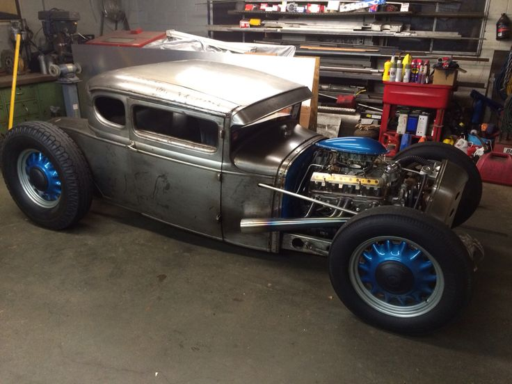 We're doing a few updates to our shop car - the Ridge Park Terror 1930 Ford Model A coupe.