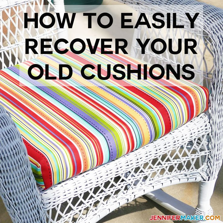 best 25 recover patio cushions ideas on pinterest. Black Bedroom Furniture Sets. Home Design Ideas