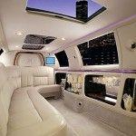 Intérieur de limousine 100 pouces