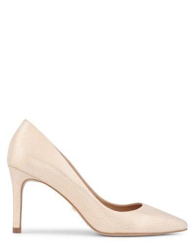 Escarpin éscarpins chaussures pour femmes ballerine blanc beige jeune mariée 3.5 45G9gyi60