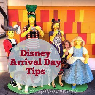 Walt Disney World arrival day tips