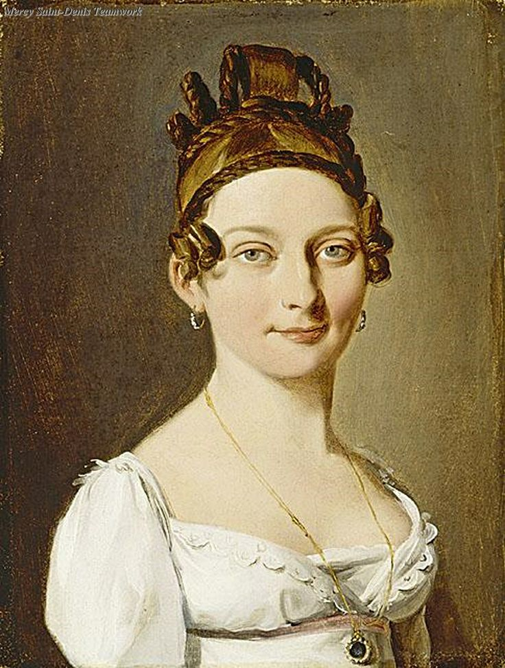 Louis Leopold Boilly Portrait of a Lady. Louis Leopold