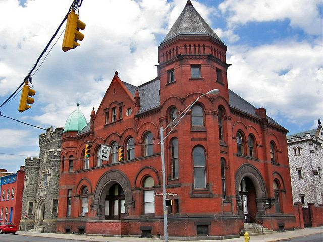 The Old Post Office Buidling, York, PA - Northeast corner of North Beaver St. and West Philadelphia St. Now Lighthouse Youth Center, York, Pennsylvania | Flickr - Photo Sharing!