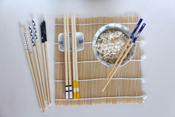 DIY : customisez vos baguettes chinoises !