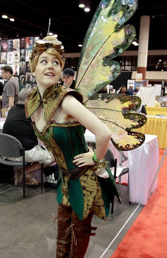 Steampunk Tinkerbell - A different take on a Disney Classic                                                                                                                                                      More