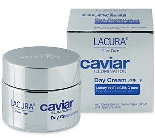 Try: Lacura Caviar Ilumination Day Cream (£6.99, Aldi)