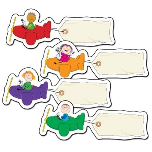 """travel themed classrooms   Travel Theme Classroom / Stick Kids Airplanes 6"""" Designer Cut-Outs ..."""