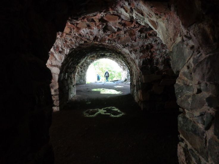The ancient dungeons of Suomenlinna, Helsinki