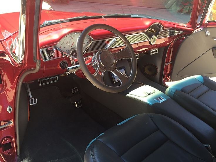 396 Best Tri Five Interiors Images On Pinterest Chevy Center Console And Home Decor Ideas
