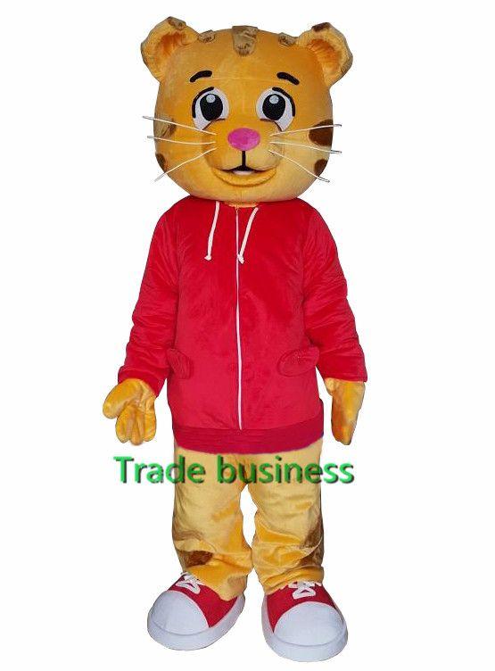 Sell Like Hot Cakes Daniel Tiger Mascot Costume Daniel Tiger Fur Mascot Costumes #Affiliate