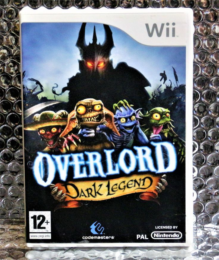 OVERLORD Dark Legend   game for NINTENDO Wii PAL VGC Free UK P&P PERFECT DISC