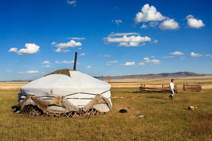 la estepa mongola