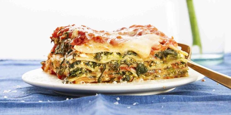 Easiest-Ever Spinach Lasagna - GoodHousekeeping.com