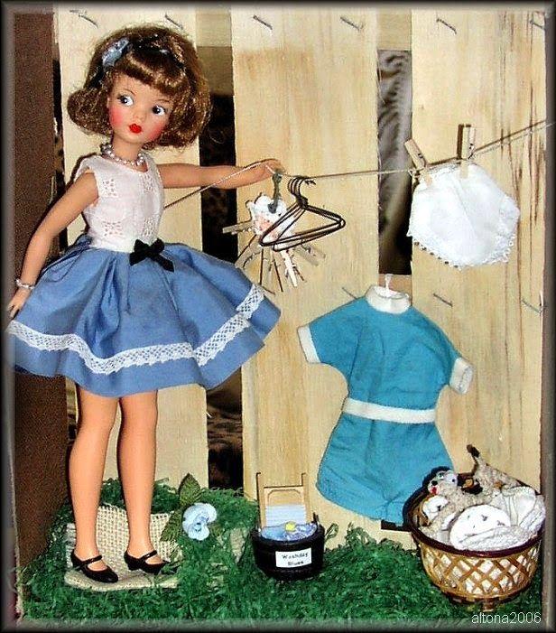 Glamour Kitty's Dolls: Tammy dolls! Tammy, Misty, and family