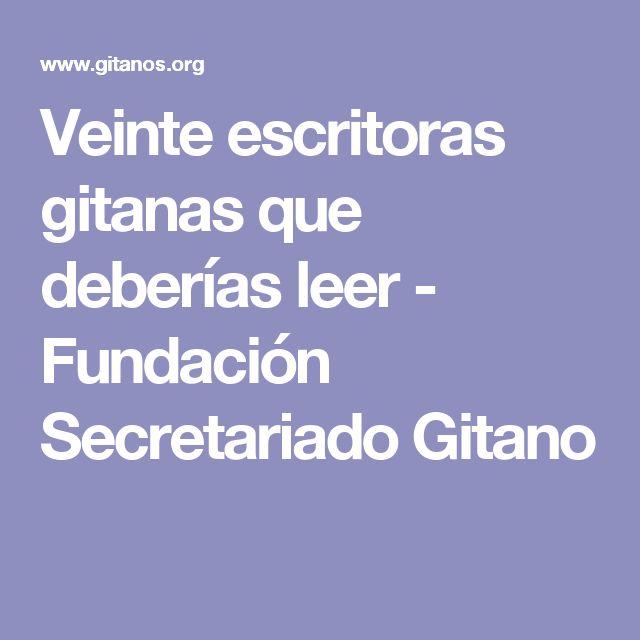 Veinte escritoras gitanas que deberías leer - Fundación Secretariado Gitano