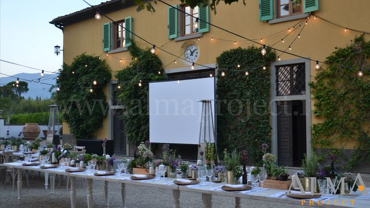 ALMA PROJECT @ Borro - Bulbs Production & Screen - Projector - Villa Square - 309